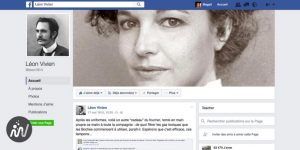 Exemple de storytelling Facebook : Léon Vivien