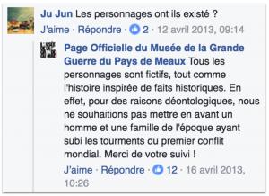 Publication sur la page facebook de Léon Vivien pour expliquer le concept