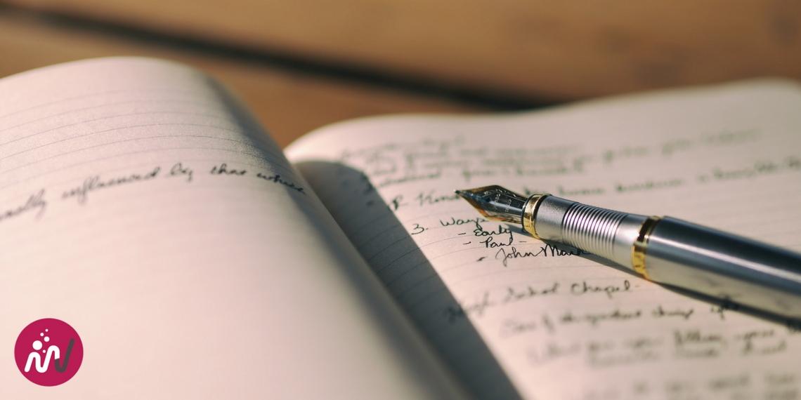 Ecrire sur un cahier