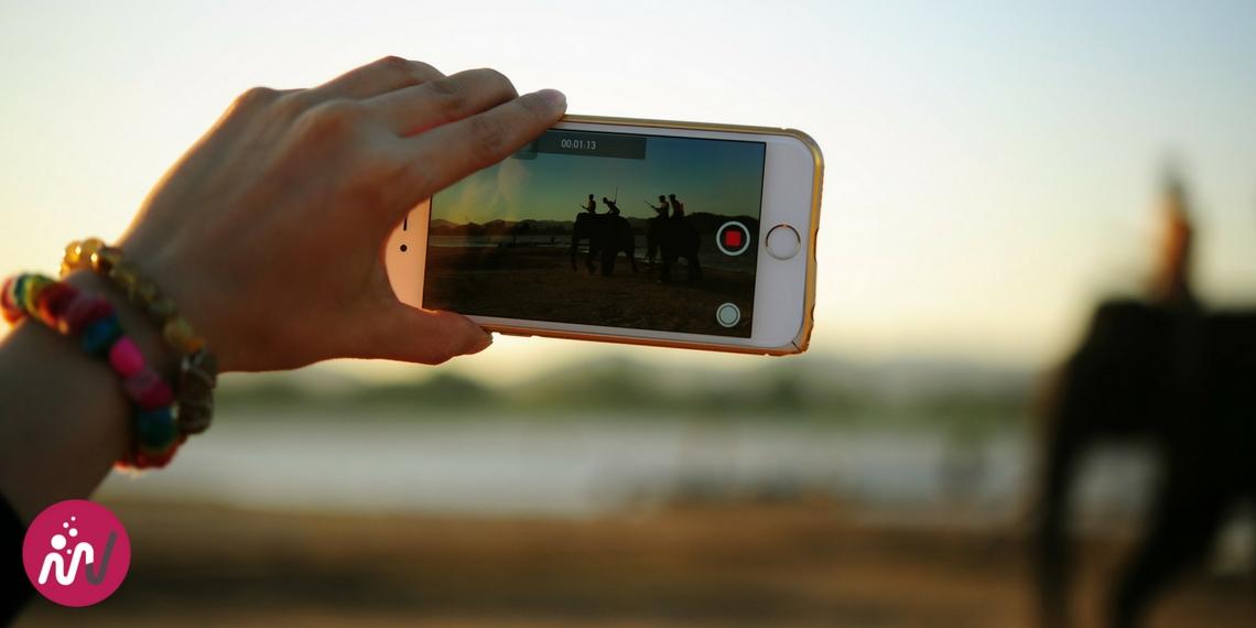 tourner une vidéo avec un smartphone